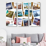 3 piece Bucket List wall art
