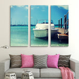 3 piece Travel and Sea wall art