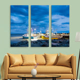 3 piece Fishing Boats in Alma wall art