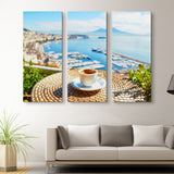 3 piece Relax, Have A Cup of coffee wall art