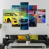 5 piece The Hangar wall art