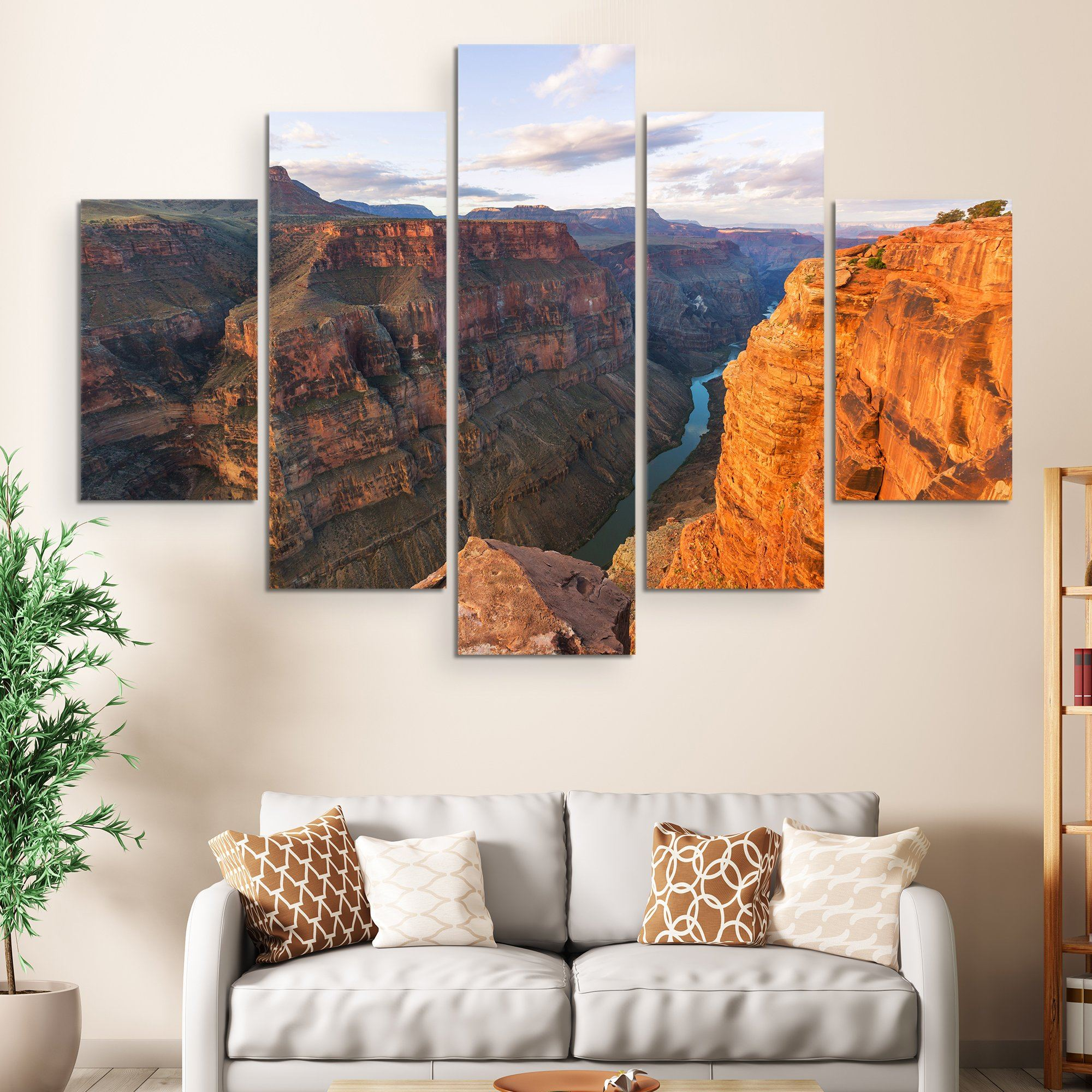 Grand Canyon National Park wall art 5 piece