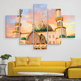 5 piece Indonesia Mosque wall art