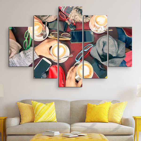 5 piece Friend Zone wall art
