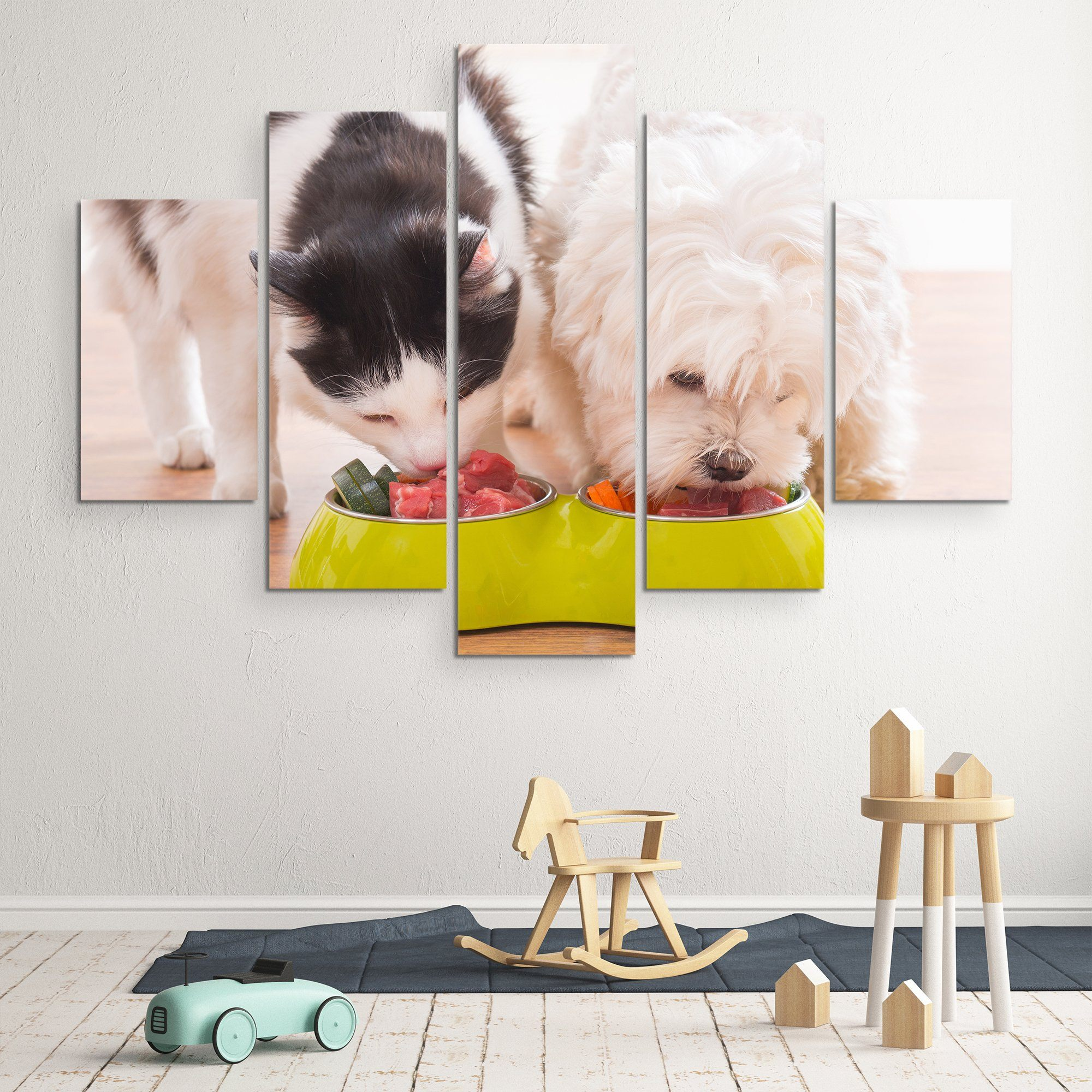 Eating Together wall art
