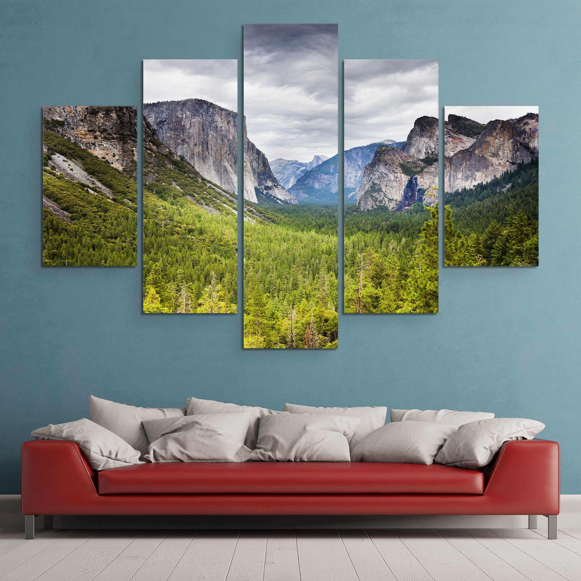 Yosemite  wall art 5 piece