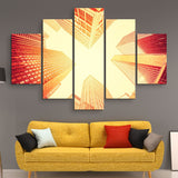 5 piece Manhattan wall art