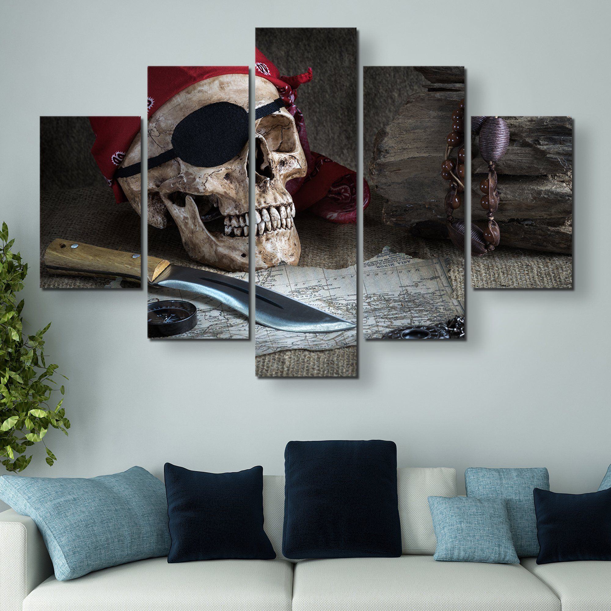 5 piece Still Life wall art