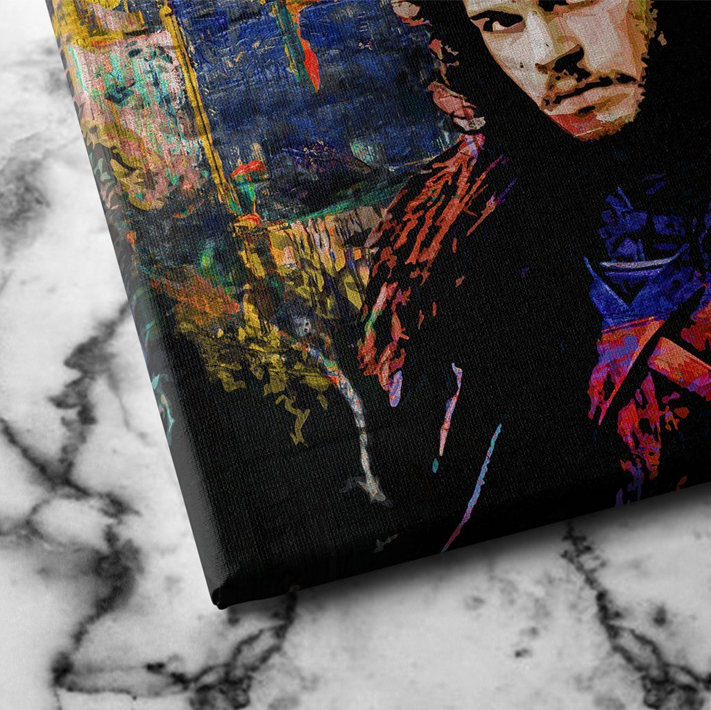 Jon snow canvas art