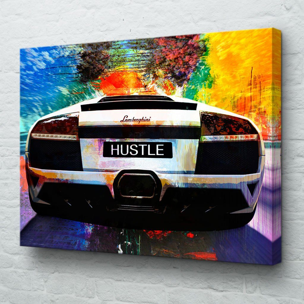 Lamborghini canvas wall art
