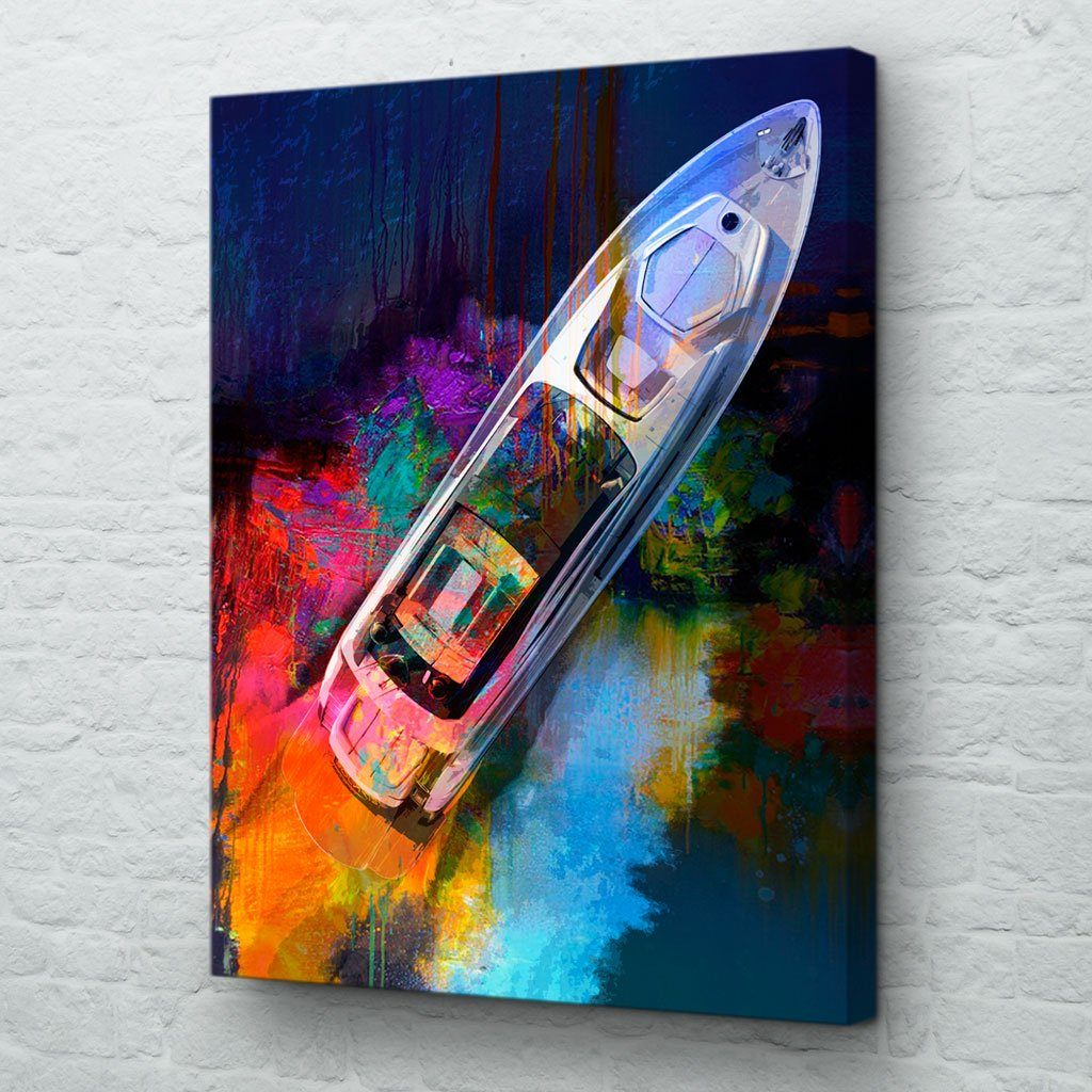 Chasing Dreams Yacht Wall Art