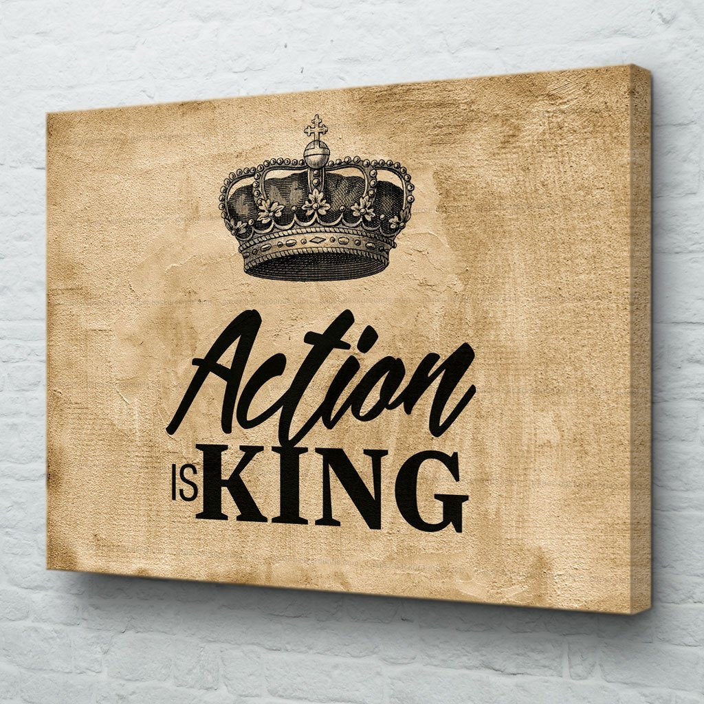 Action is King Art