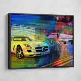 Mercedes Benz Wall Art