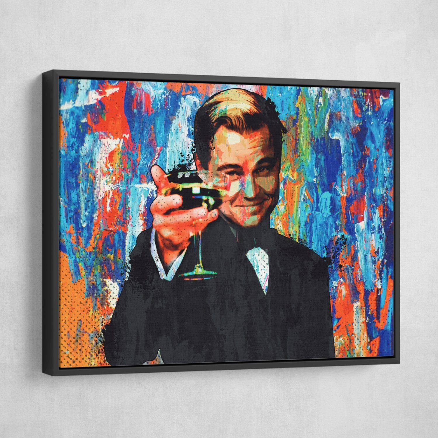 Leonardo Dicaprio Great Gatsby Art