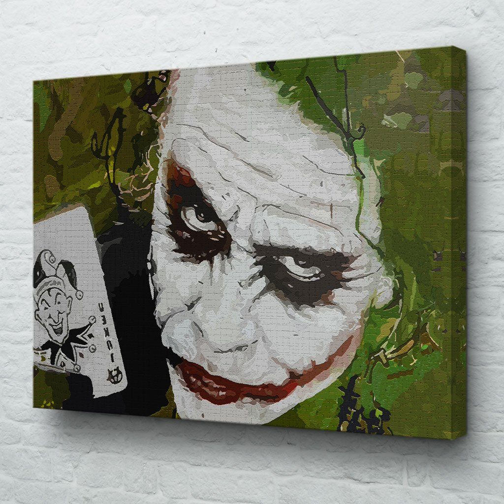 The Joker Wall Art