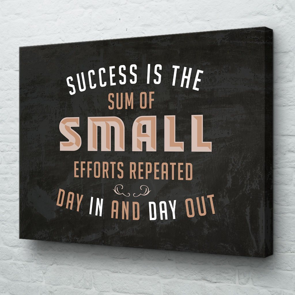 Motivational Canvas Art