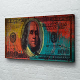 Big Benjamin 100 Dollar Bill Pop Art