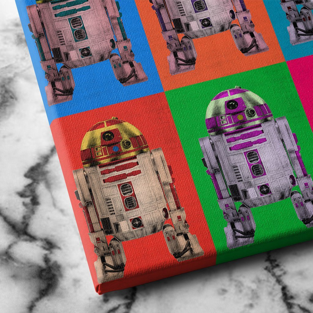 R2D2 Canvas Art