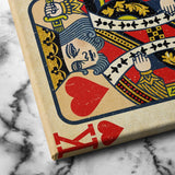 King of Hearts Wall Art