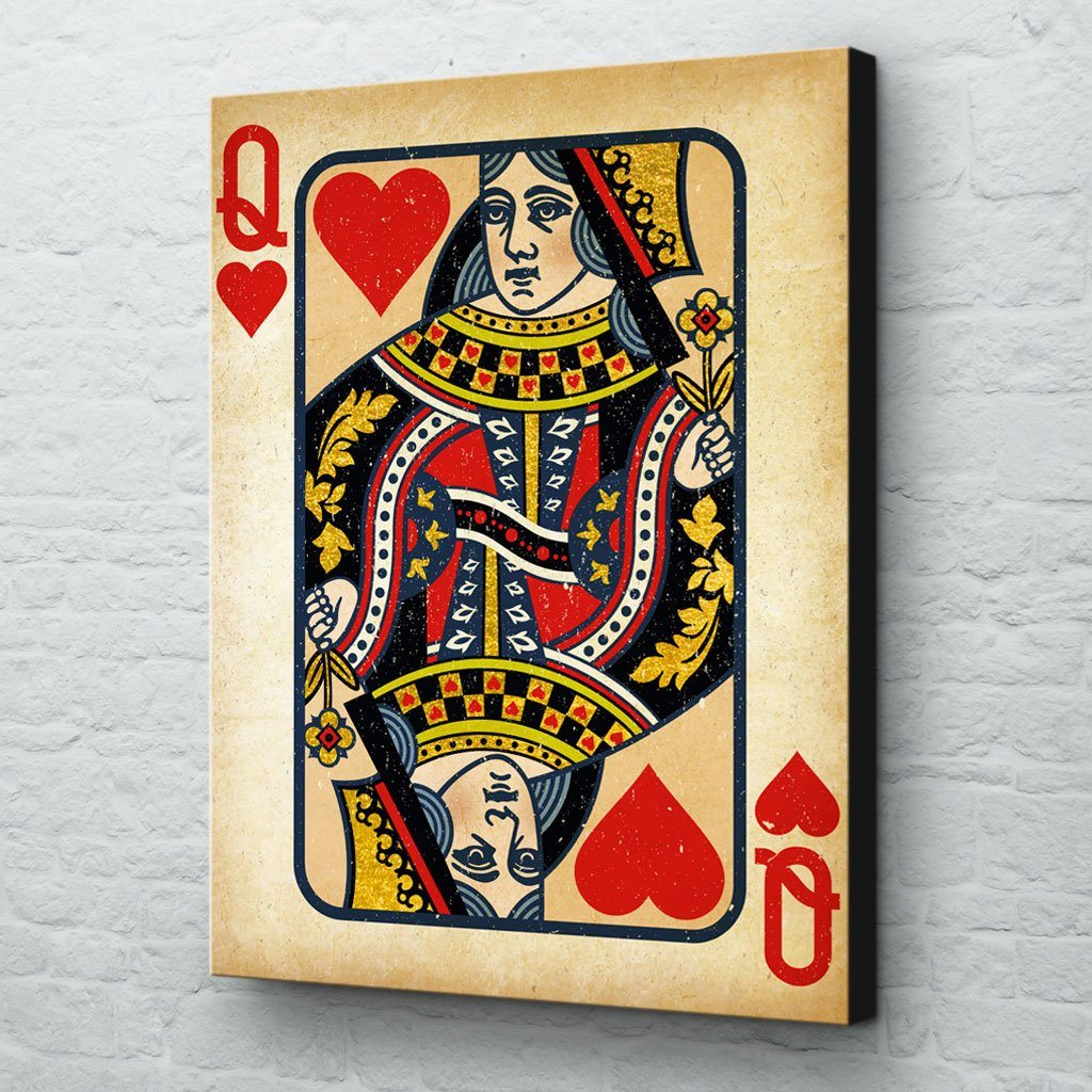 Queen of Hearts Wall Art