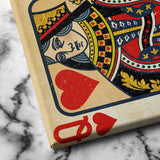 Queen of Hearts Canvas Art