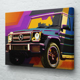 Mercedes G63 Wall Art