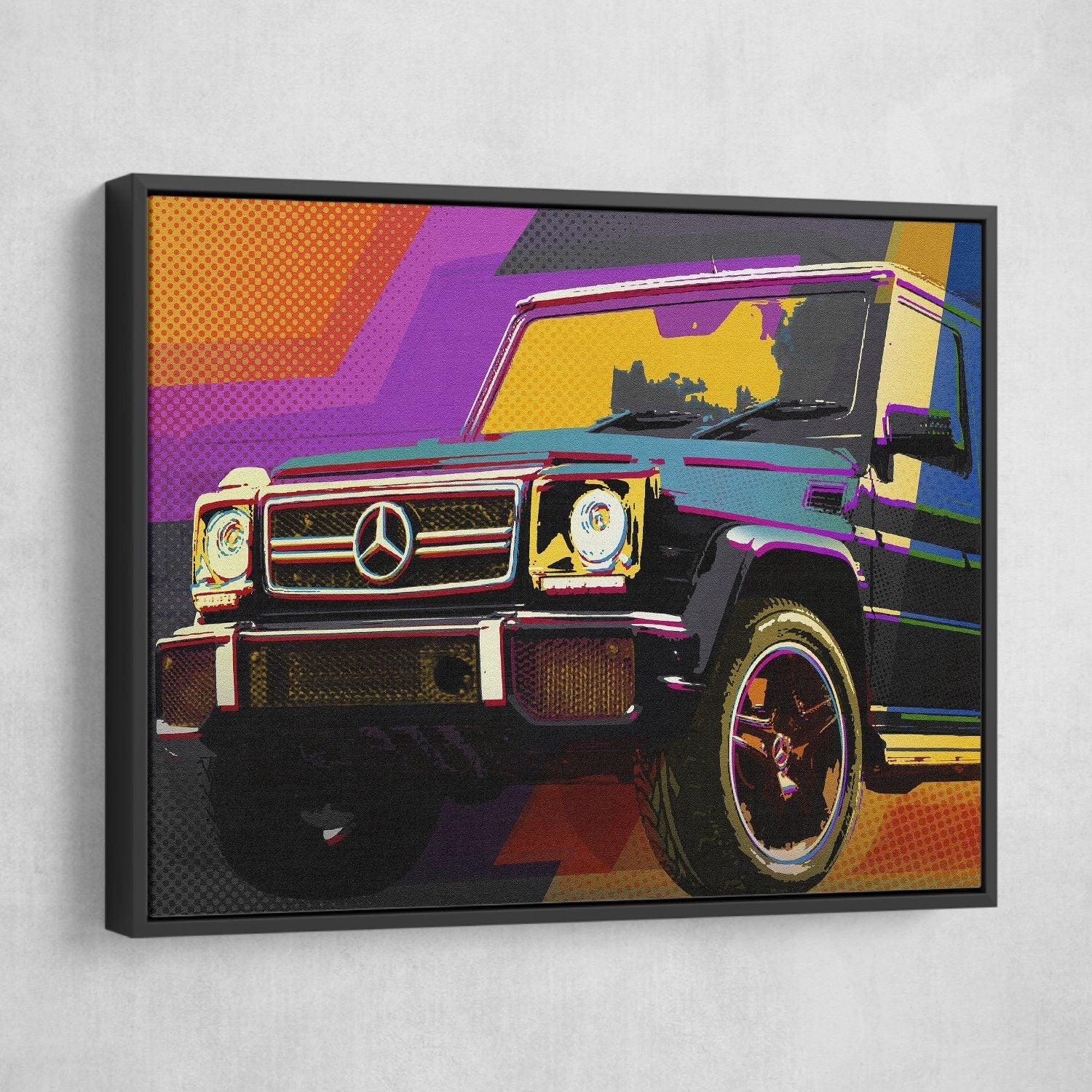 Mercedes G63 Pop Art
