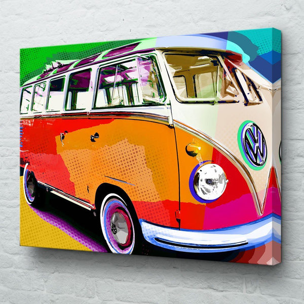 VW Van Wall Art