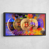 bitcoin wall art