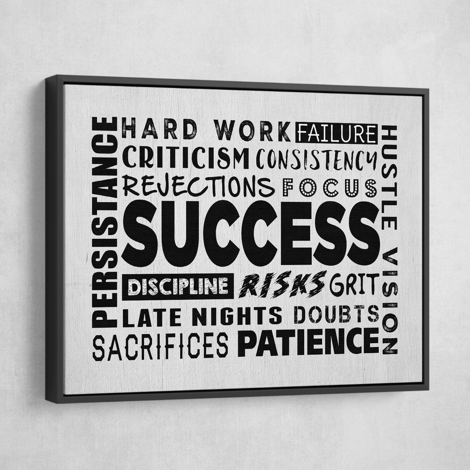 success wall art