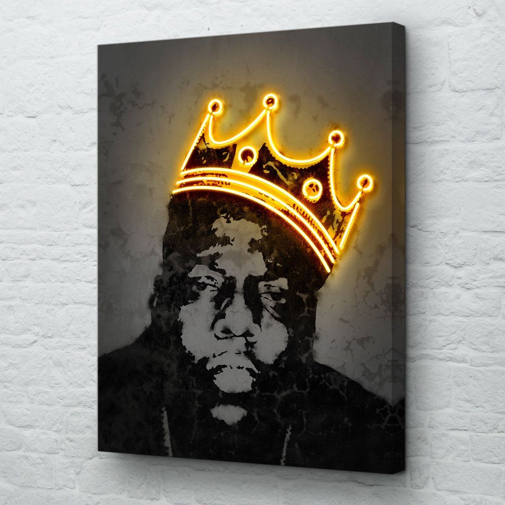 Biggie crown painting