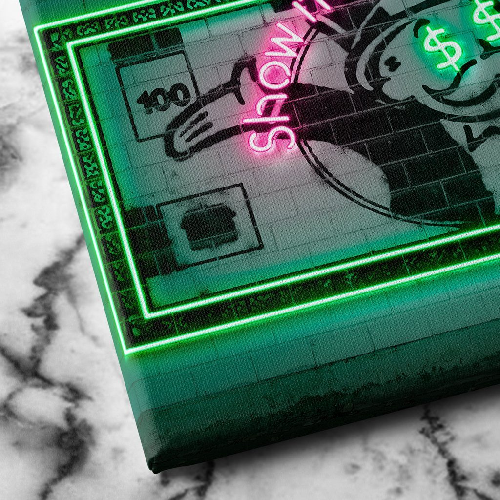 Monopoly Money Canvas Art