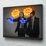 Pulp Fiction Canvas Art