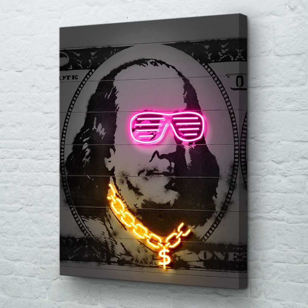 Benjamin money art