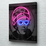 Neon Jackson Canvas Art