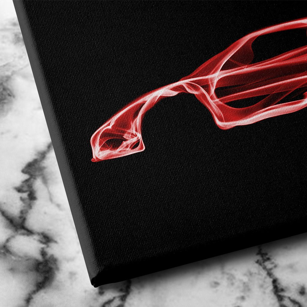 Ferrari F40 Wall Canvas Art