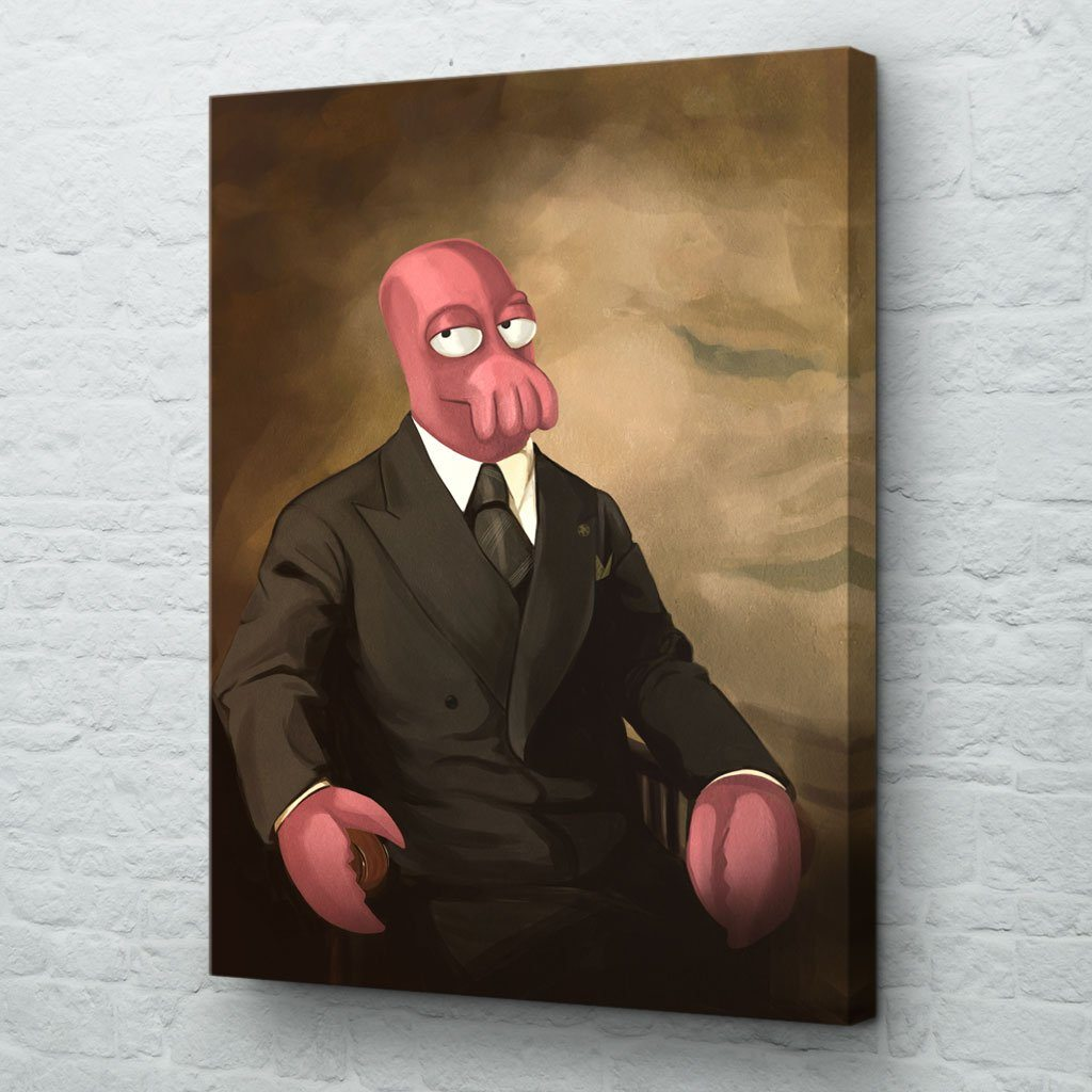 zoidberg wall art