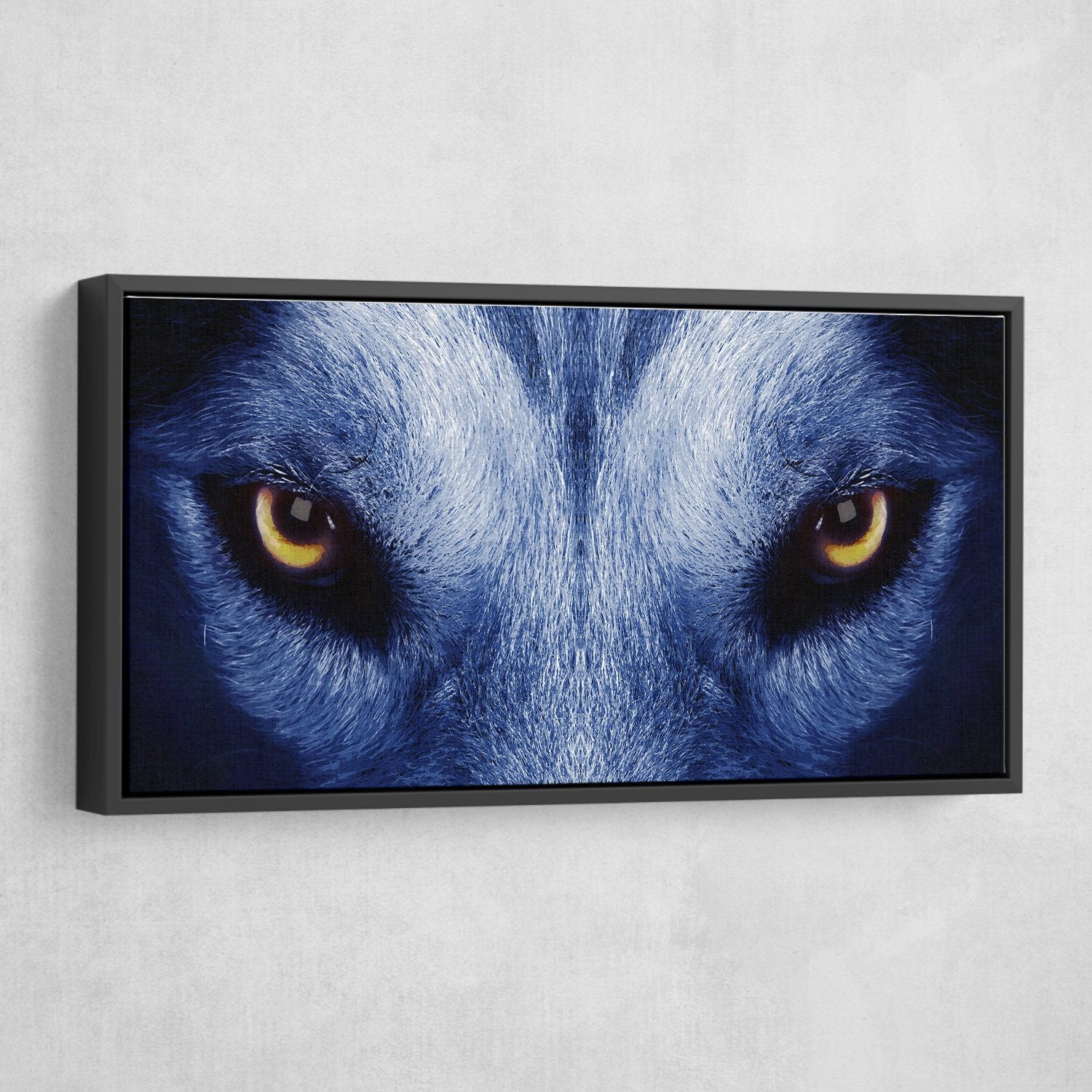 eye of the wolf wall art