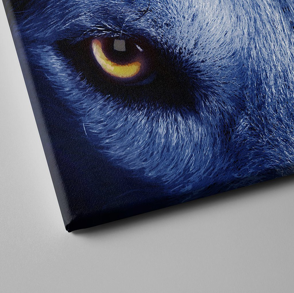 eye of the wolf canvas art