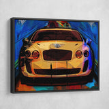 bentley supersports wall art