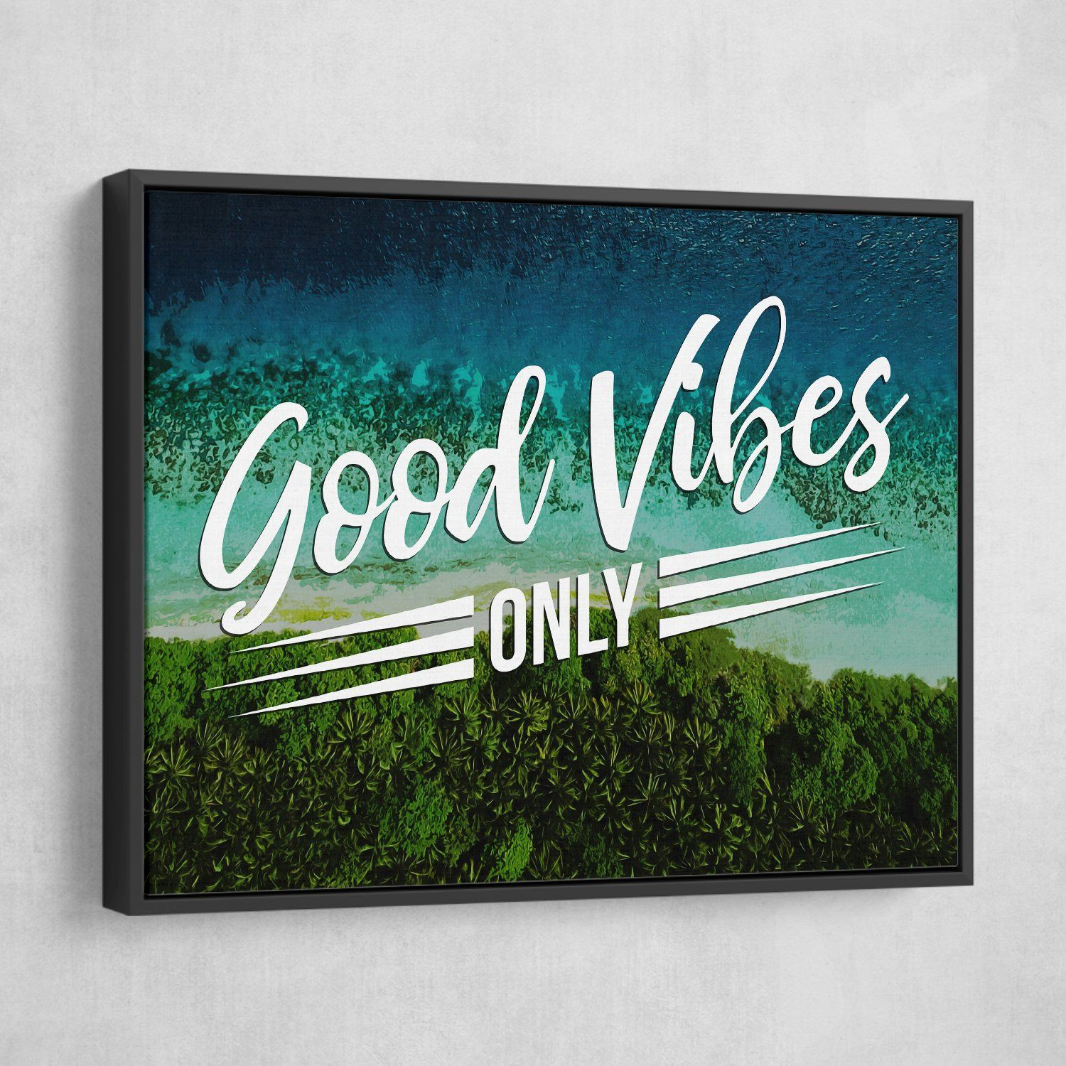 good vibes wall art