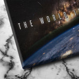 the world is yours canvas art
