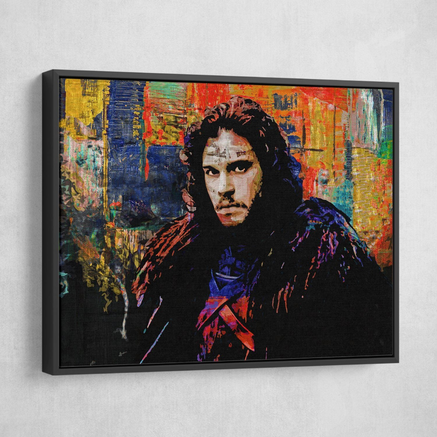 Jon snow wall art