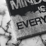 Mindset is everything canvas art