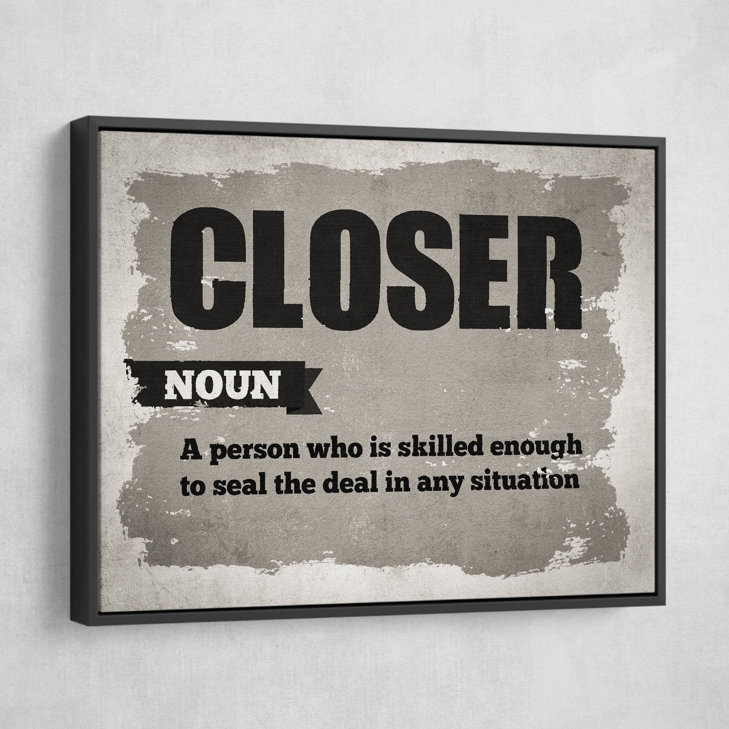 closer definition art