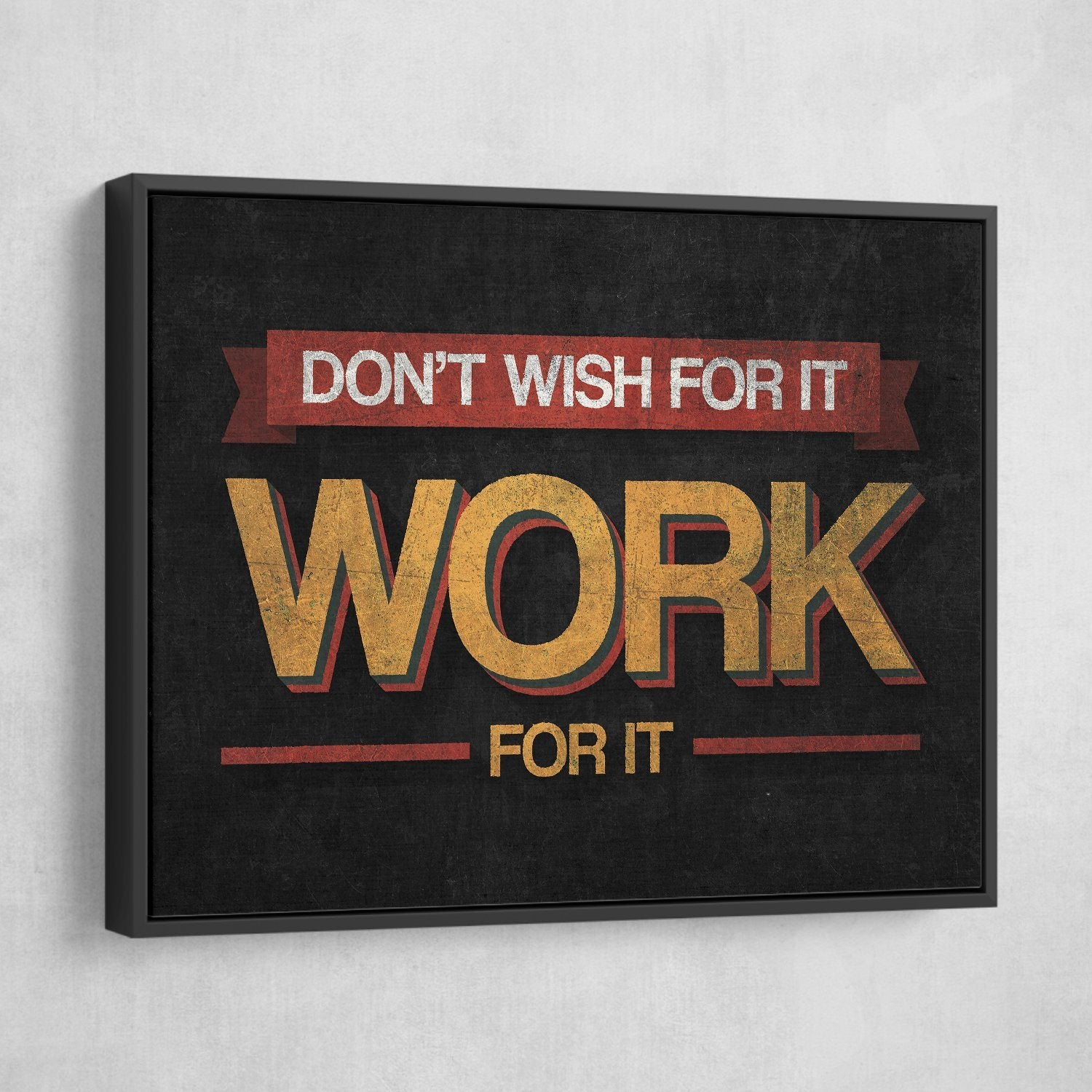 work for it wall art