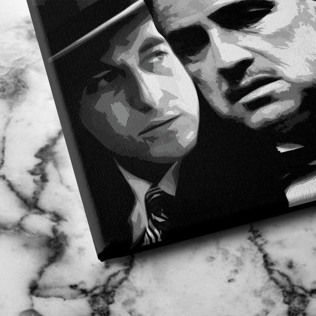 the godfather canvas art