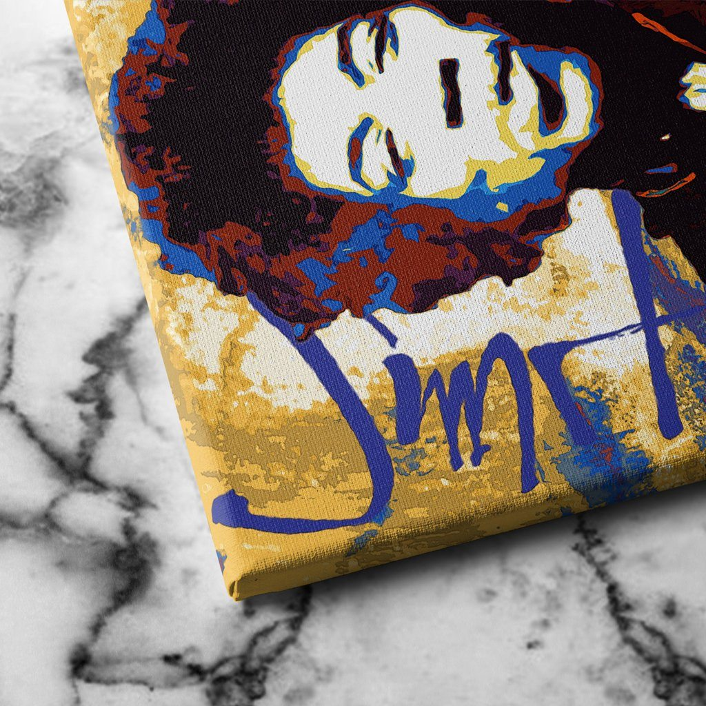 jimi hendrix canvas art