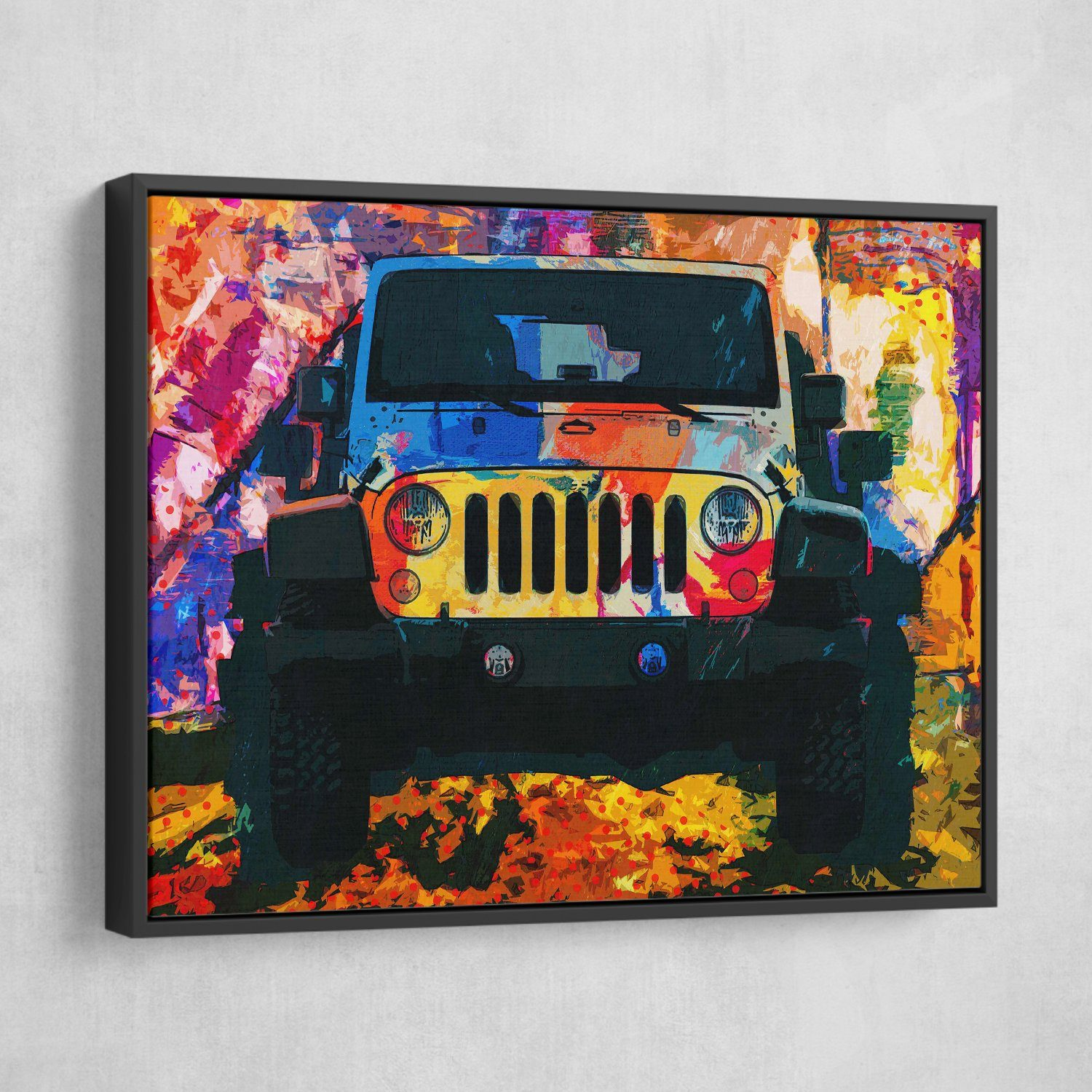 Jeep wrangler painting