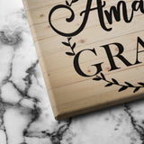 amazing grace canvas art